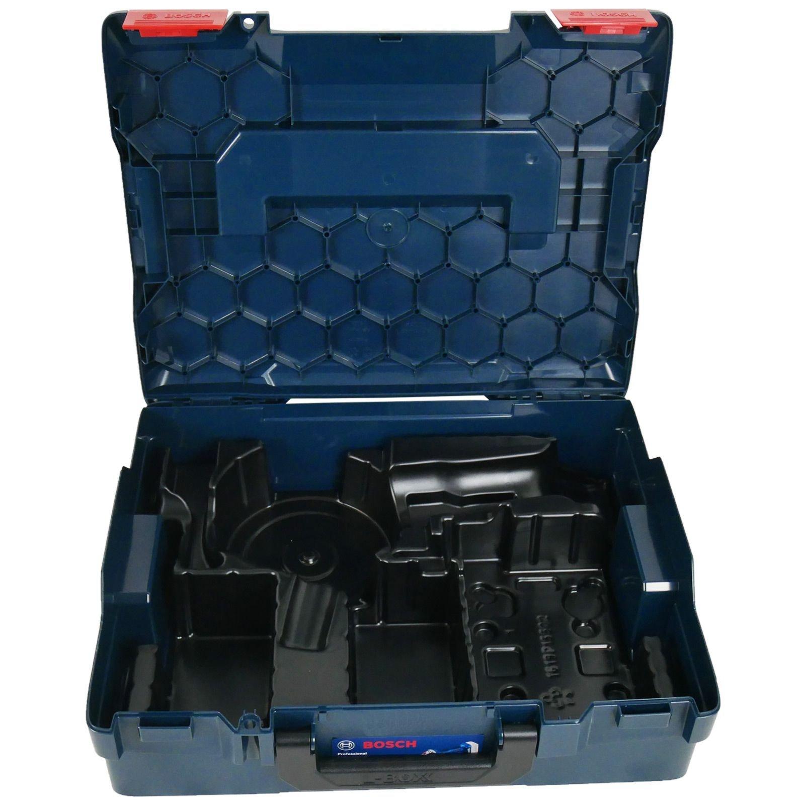 Bosch L-Boxx 136 inkl Einlage für GWS 18-125 V-LI Werkzeugkoffer Werkzeugbox