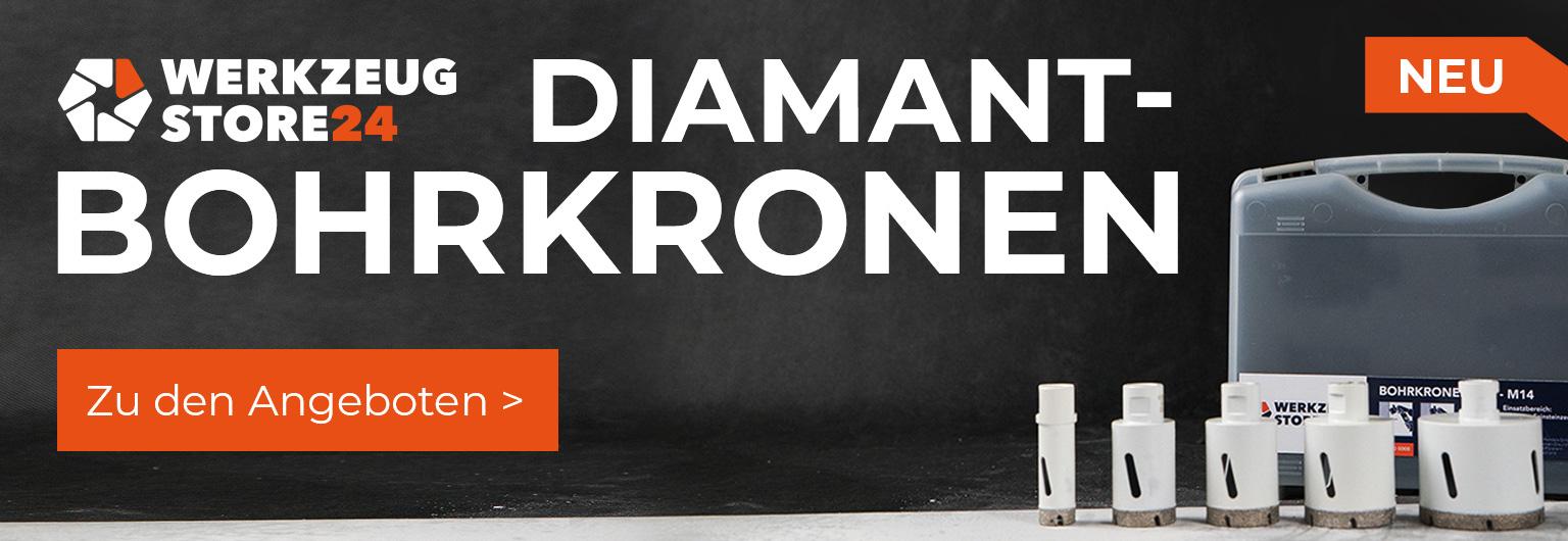 WS24 Diamantbohrkronen SuperDry