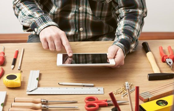 der digitale Werkzeugkasten